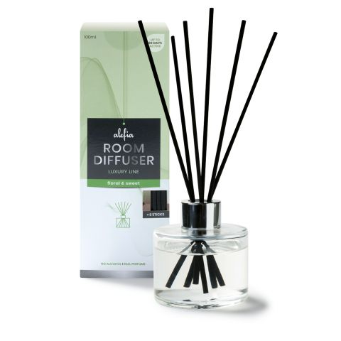 Alefia Luxury Line Room Diffuser Floral & Sweet 100ml