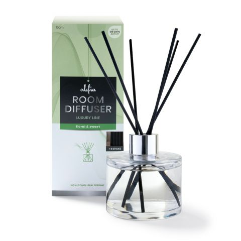 Alefia Luxury Line Room Diffuser Floral & Sweet 150ml