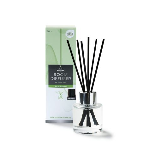 Alefia Luxury Line Room Diffuser Floral & Sweet 50ml