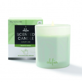 Alefia Luxury Line Scented Candle Floral & Sweet
