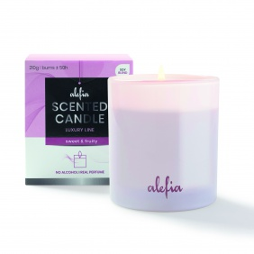 Alefia Luxury Line Scented Candle Sweet & Fruity