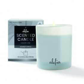 Alefia Luxury Line Scented Candle Woody & Citrus