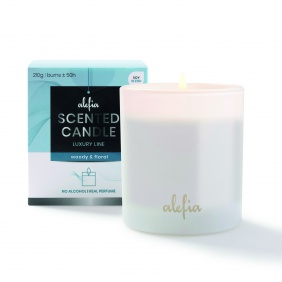 Alefia Luxury Line Scented Candle Woody & Floral