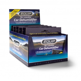 Equip Car Dehumidifier Display