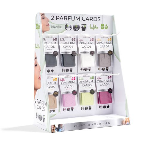 Laftia Parfum Card Display Modern