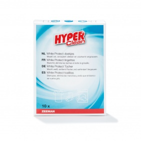 Hyper Clean White Protect doekjes 10x