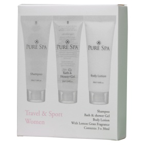 Pure Spa Travel & Sportset Women